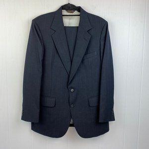 Johnny Carson | Vintage Navy Pinstripe Suit 42R/36